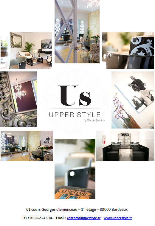 By appointment 5 days a week - UPPER STYLE by Claude Boscher